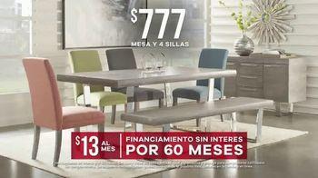 Rooms to Go Venta por el Día del Trabajo TV Spot, 'Mesa y cuatro sillas' [Spanish] - Thumbnail 6