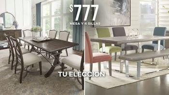 Rooms to Go Venta por el Día del Trabajo TV Spot, 'Mesa y cuatro sillas' [Spanish] - Thumbnail 4