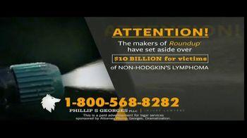 Phillip S. Georges, PLLC TV Spot, 'Roundup: Non-Hodgkin's Lymphoma'