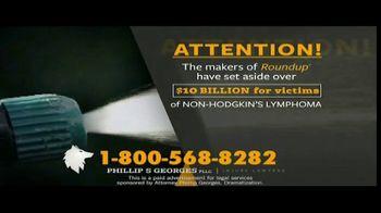 Phillip S. Georges, PLLC TV Spot, 'Roundup: Non-Hodgkin's Lymphoma' - Thumbnail 2