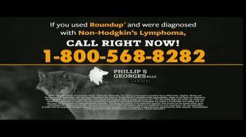 Phillip S. Georges, PLLC TV Spot, 'Roundup: Non-Hodgkin's Lymphoma' - Thumbnail 7