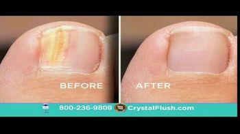 Crystal Flush TV Spot, 'Toenail Fungus'