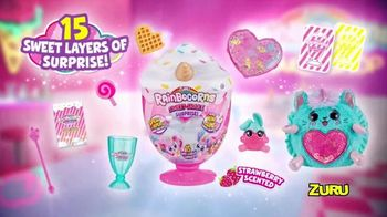 Rainbocorns Sweet-Shake Surprise TV Spot, '15 Delicious Layers' - Thumbnail 5