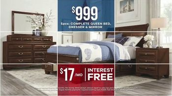 Rooms to Go Labor Day Sale TV Spot, 'Refresh: Living Room, Chaise Sofa and Bedroom Sets' - Thumbnail 7