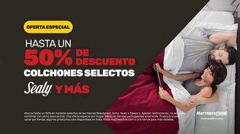 Mattress Firm Venta de Labor Day TV Spot, '50% de descuento: colchones selectos' [Spanish] - Thumbnail 6