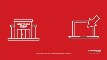 Mattress Firm Venta de Labor Day TV Spot, '50% de descuento: colchones selectos' [Spanish] - Thumbnail 7