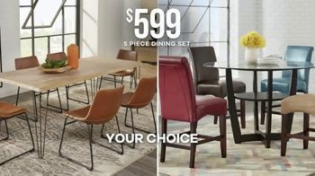 Rooms to Go Labor Day Sale TV Spot, 'Five-Piece Dining Sets' - Thumbnail 4