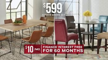 Rooms to Go Labor Day Sale TV Spot, 'Five-Piece Dining Sets' - Thumbnail 5
