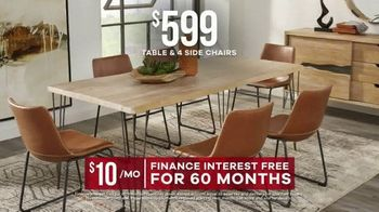 Rooms to Go Labor Day Sale TV Spot, 'Five-Piece Dining Sets' - Thumbnail 6