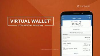 PNC Bank Virtual Wallet for Digital Banking TV Spot, 'Pizza Tracking' - Thumbnail 5