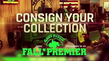 Mecum Gone Farmin' Fall Premier TV Spot, 'Consign Your Collection: Not Too Late' - Thumbnail 1