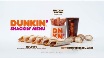 Dunkin' Snackin' Menu TV Spot, 'Snackisfying' - Thumbnail 8