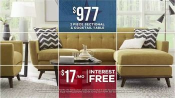 Rooms to Go Labor Day Sale TV Spot, 'Refresh: Sofas, Sectionals and Tables' - Thumbnail 4