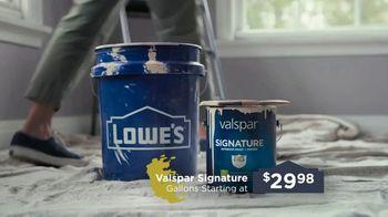 Lowe's TV Spot, 'Take Back Your Walls: Valspar Signature' - Thumbnail 5