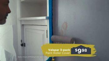 Lowe's TV Spot, 'Take Back Your Walls: Valspar Signature' - Thumbnail 6