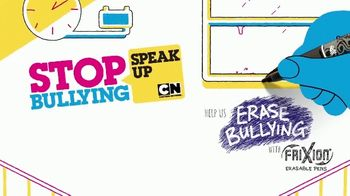 Pilot Pen TV Spot, 'Cartoon Network: Stop Bullying: Speak Up' - Thumbnail 1