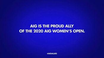 2020 AIG Women's Open TV Spot, 'Driving Change' - Thumbnail 8