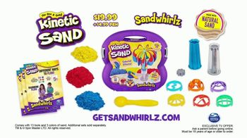 Kinetic Sand Sandwhirlz Playset TV Spot, 'Everything You Need' - Thumbnail 8