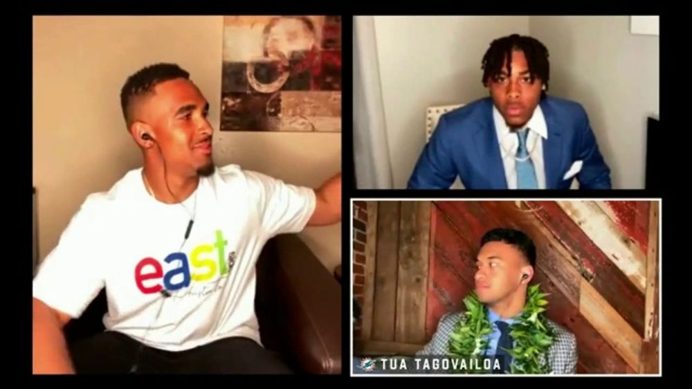 NFL TV Commercial, 'The 2020 Draft Class' Featuring Joe Burrow, Chase Young, Tua Tagovailoa