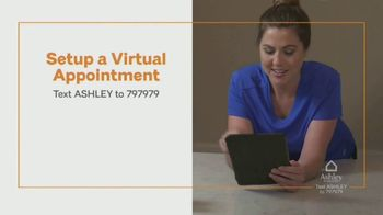 Ashley HomeStore Ashley Cares Relief Program TV Spot, 'Virtual Appointment' - Thumbnail 8