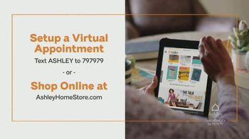 Ashley HomeStore Ashley Cares Relief Program TV Spot, 'Virtual Appointment' - Thumbnail 9
