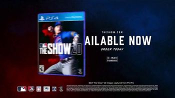 MLB The Show 20 TV Spot, 'Brilliant' - Thumbnail 10