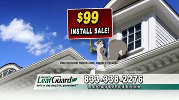 LeafGuard of Seattle $99 Install Sale TV Spot, 'Replace Those Old Gutters' - Thumbnail 6