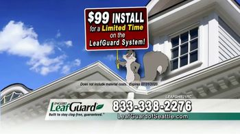 LeafGuard of Seattle $99 Install Sale TV Spot, 'Replace Those Old Gutters' - Thumbnail 7