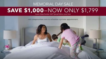 Sleep Number Memorial Day Sale TV Spot, '360 Smart Bed: Come Out Swinging' - Thumbnail 10