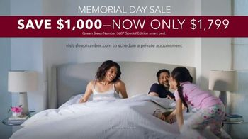 Sleep Number Memorial Day Sale TV Spot, '360 Smart Bed: Come Out Swinging' - Thumbnail 9