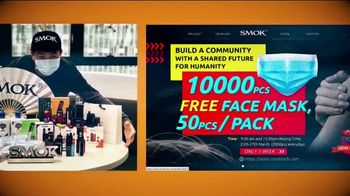 Tobacco-Free Kids Action Fund TV Spot, 'Free Masks With Purchase'