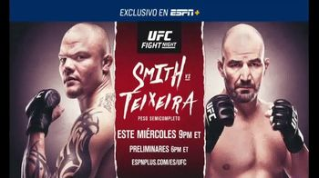 ESPN+ TV Spot, 'UFC Fight Night: Smith vs. Teixeira' [Spanish] - 160 commercial airings