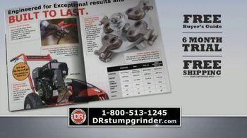 DR Power Equipment Stump Grinder TV Spot, 'Professional Power' - Thumbnail 10