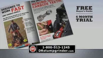 DR Power Equipment Stump Grinder TV Spot, 'Professional Power' - Thumbnail 9