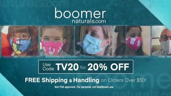 Boomer Naturals Face Masks TV Spot, 'Protect Yourself' - Thumbnail 10