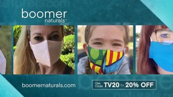 Boomer Naturals Face Masks TV Spot, 'Protect Yourself'