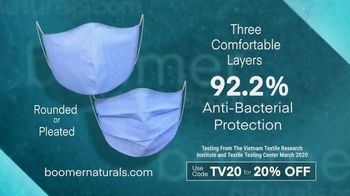 Boomer Naturals Face Masks TV Spot, 'Protect Yourself' - Thumbnail 4