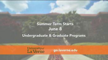 University of La Verne TV Spot, 'Summer Classes' - Thumbnail 2