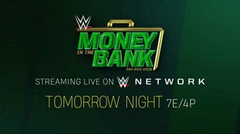 WWE Network TV Spot, '2020 Money in the Bank' - Thumbnail 9