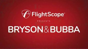 FlightScope Mevo+ TV Spot, 'Bryson & Bubba' Ft. Bryson DeChambeau, Bubba Watson - Thumbnail 1
