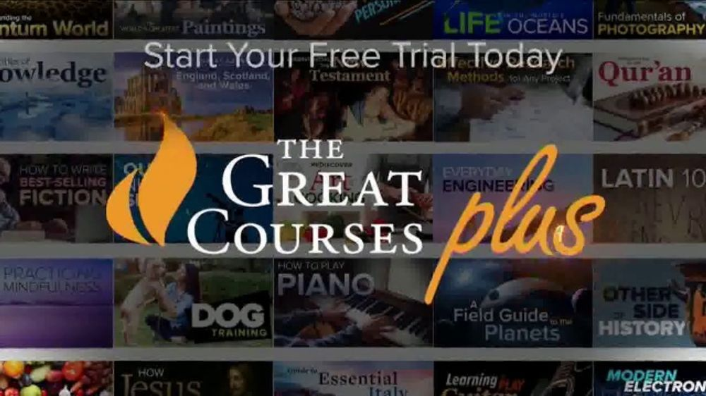 The Great Courses Plus TV Commercial, 'Now is the Time to Learn'
