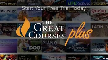 The Great Courses Plus TV Spot, \'Now is the Time to Learn\'