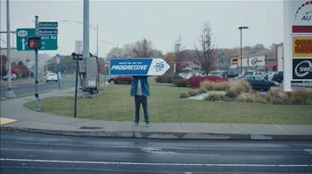 Progressive TV Spot, 'Sign Spinner: Directions $750'