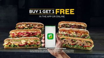 Subway App TV Spot, 'Buy One Footlong, Get One Free: Contactless' - Thumbnail 9