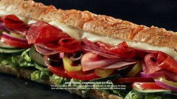 Subway App TV Spot, 'Buy One Footlong, Get One Free: Contactless' - Thumbnail 2
