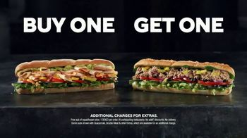Subway App TV Spot, 'Buy One Footlong, Get One Free: Contactless' - Thumbnail 4