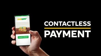 Subway App TV Spot, 'Buy One Footlong, Get One Free: Contactless' - Thumbnail 6