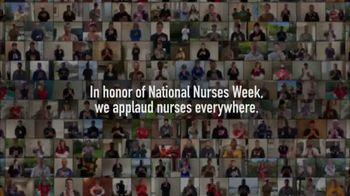 The National Hockey League (NHL) TV Spot, 'NHL Applauds Nurses for National Nurses Week' - Thumbnail 7