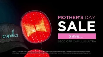Capillus Mother's Day Sale TV Spot, 'Treat Hair Loss at Home'