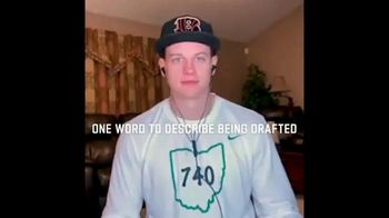 NFL TV Spot, 'The 2020 Draft Class: One Word to Describe Being Drafted' Featuring Joe Burrow - Thumbnail 1